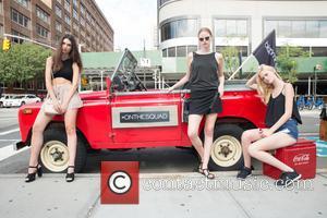 Cristina Martinez ( GNS Models), Vera Luijendijk ( IMG Models) and Brooke Mason( Major Models) - New York Fashion Week...