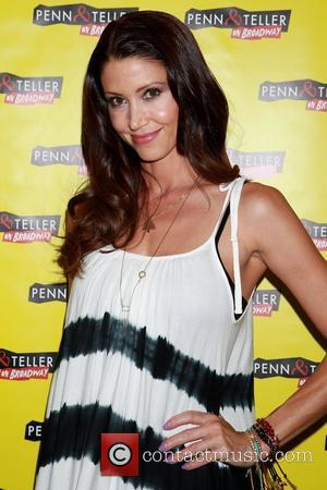 Shannon Elizabeth - 'Penn & Teller on Broadway' opening night - Arrivals at Marquis Theatre, - New York, United States...