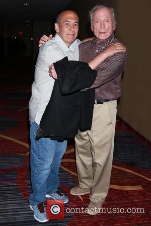 Gilbert Gottfried and Dick Cavett