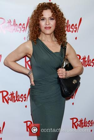 Bernadette Peters - Opening night for Ruthless at St. Luke's Theatre - Arrivals. at St. Luke's Theatre, - New York...