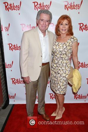 Regis Philbin and Joy Philbin - Opening night for Ruthless at St. Luke's Theatre - Arrivals. at St. Luke's Theatre,...