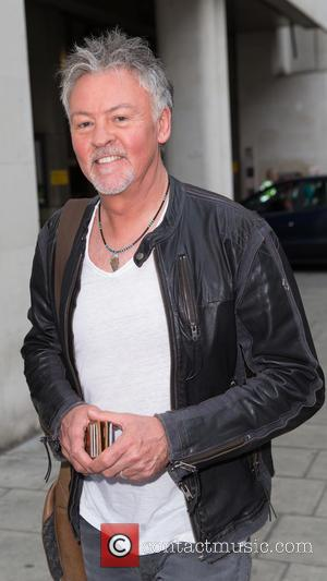 Paul Young - Paul Young pictured arriving the Radio 1 studios at BBC Portland Place - London, United Kingdom -...