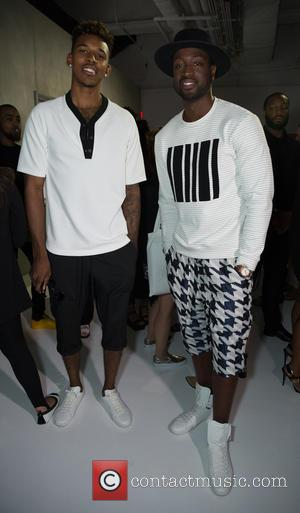 Dwayne Wade and Public School Presentation - CFDA New York Men's Fashion Week - Public School  Presentation at Skylight...
