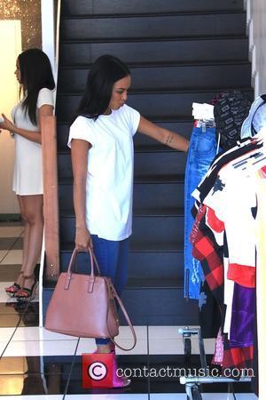 Karrueche Tran - Christina Milian at 'We Are Pop Culture' pop-up shop on Melrose Avenue - Los Angeles, California, United...