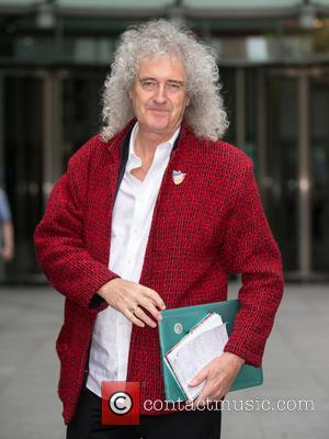 Brian May - Brian May arriving the BBC studios to talk about fox hunting at BBC Portland Place - London,...