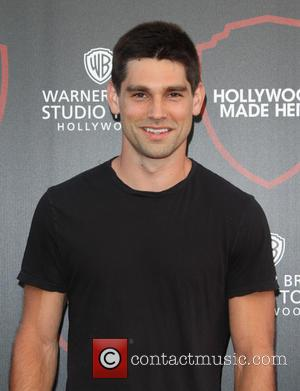 Justin Gaston - Warner Brothers Studio Tour Hollywood Expansion Official Unveiling, Stage 48: Script To Screen at Warner Brothers Studios...