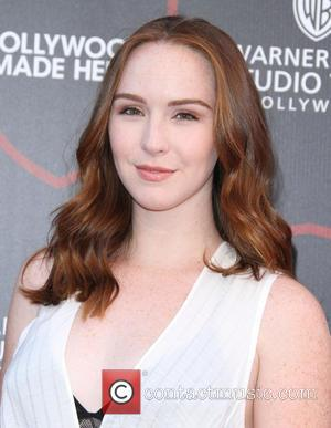 Camryn Grimes - Warner Brothers Studio Tour Hollywood Expansion Official Unveiling, Stage 48: Script To Screen at Warner Brothers Studios...