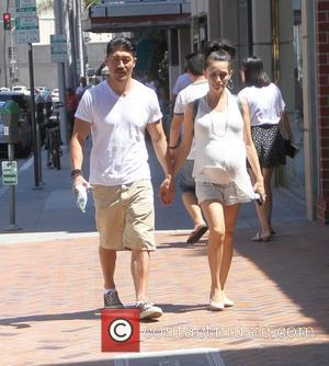 Brian Tee and Mirelly Taylor - Brian Tee and Mirelly Taylor go shopping in Beverly Hills - Los Angeles, California,...