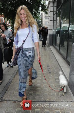Joss Stone - Joss Stone leaving the Radio 2 studio, with her dog - London, United Kingdom - Wednesday 15th...