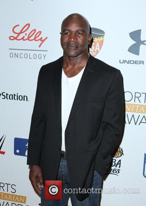 Evander Holyfield - Sports Humanitarian of the Year Awards 2015 - Arrivals at The Conga Room at L.A. Live -...
