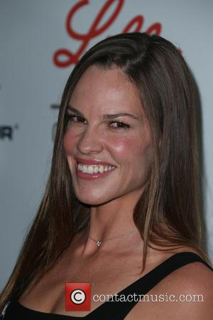 Hilary Swank - Sports Humanitarian of the Year Awards 2015 - Arrivals at The Conga Room at L.A. Live -...