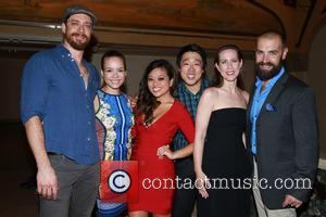 cast - Opening night party for the Encores! Off Center production of The Wild Party at New York City Center...