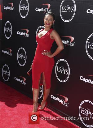 Mel B - The 2015 ESPY Awards held at The Microsoft Theatre - Red Carpet Arrivals at Microsoft Theater -...