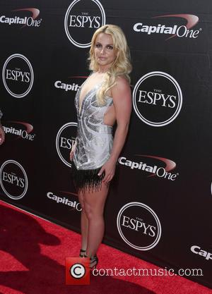 Britney Spears - The 2015 ESPY Awards held at The Microsoft Theatre - Red Carpet Arrivals at Microsoft Theater -...