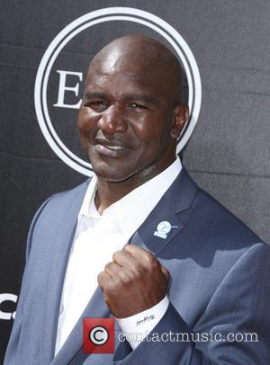 Evander Holyfield - The 2015 ESPY Awards held at The Microsoft Theatre - Red Carpet Arrivals at Microsoft Theater -...