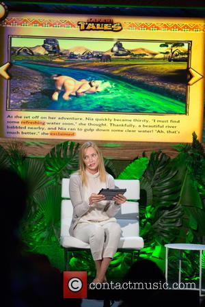 Uma Thurman - Launch of Dino Tales and Safari Tales at the American Museum of Natural History with Kuato Studios...