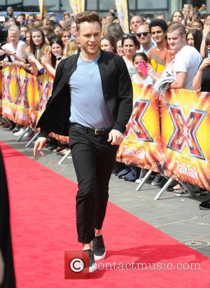 Olly Murs at The X Factor
