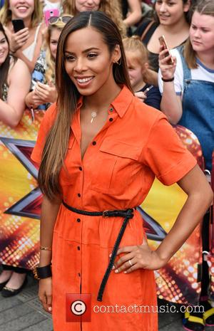 Rochelle Humes - Red carpet for X Factor Judges auditions in London. at Wembley Arena, x factor - London, United...