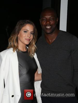Stephanie Bauer and Terrell Owens