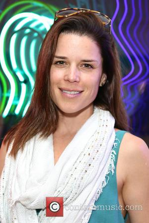 Neve Campbell - Guests attend group exhibition 'City Lights' at London's newest art gallery and members lounge, Lights of Soho....