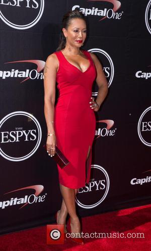 Mel B - ESPYS 2015 red carpet - Arrivals - Hollywood, California, United States - Thursday 16th July 2015