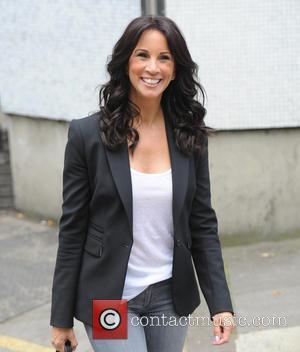 Andrea McLean - Andrea McLean seen leaving ITV Studios in London - London, United Kingdom - Friday 17th July 2015