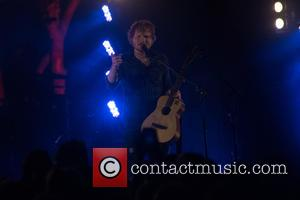 Ed Sheeran - Ed Sheeran performs a secret set at the tiny I Stage in the woods at Latitude Festival...