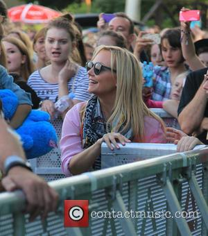 emma bunton - Little Mix Play Thorpe Park Island Beats, on the day Black Magic goes to NO1 in the...