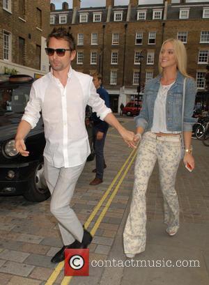 Matt Bellamy and Elle Evans