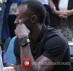 Usain Bolt - Celebrities outside the BBC Radio 1 studios - London, United Kingdom - Friday 17th July 2015