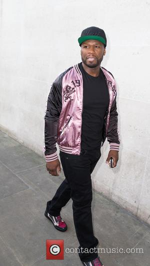 50 Cent and Curtis James Jackson III - 50 Cent arriving the BBC Radio 1 studios at BBC Portland Place...