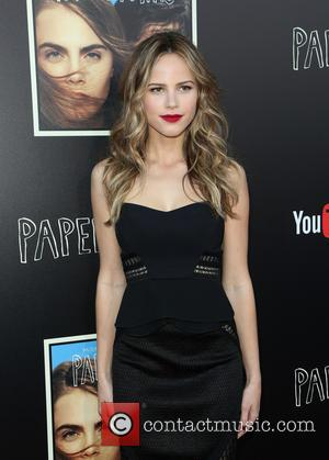 Halston Sage - 20th Century Fox 'Paper Towns' Q&A and Live Concert - Arrivals at YouTube Space LA - Los...