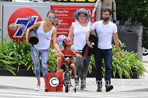 Alessandra Ambrosio, Jamie Mazur, Anja Ambrosio Mazur and Noah Mazur