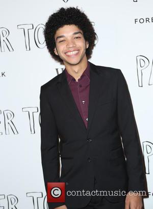 Justice Smith - Screening of 'Paper Towns' held at The London West Hollywood - Arrivals at The London West Hollywood...