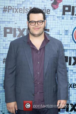 Josh Gad - World premiere of 'Pixels' held at Regal E-Walk - Arrivals at Regal E-Walk - New York City,...