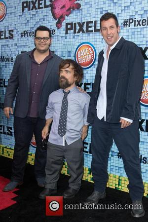 Josh Gad, Peter Dinklage and Adam Sandler
