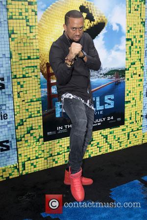 Affion Crockett - World premiere of 'Pixels' held at Regal E-Walk - Arrivals at Regal E-Walk - New York City,...