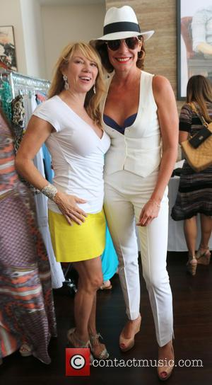 Ramona Singer and LuAnn de Lesseps - Jill Zarin hosts the 3rd Annual Luxury Ladies Luncheon in the Hamptons -...