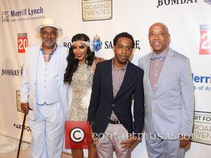 Danny Simmons, Angela Simmons, Jojo and Russell Simmons