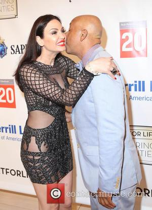 Bleona and Russell Simmons
