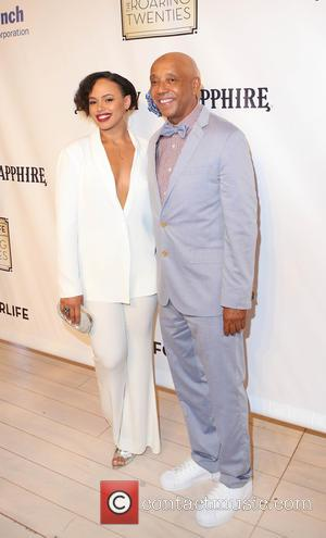 Elle Varner and Russell Simmons