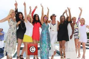 Aviva Drescher, Cindy Barshop, Ramona Singer, Patti Stanger, Jill Zarin, Luann De Lesseps, Cynthia Bailey, Carla Stephens and Dorinda Medley