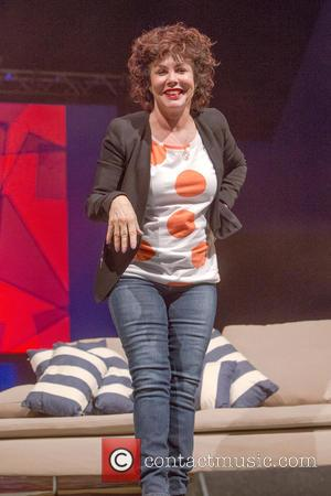 Ruby Wax - Latitude Festival 2015 - Day 2 - Performances and Atmosphere at Henham Park, Latitude Festival - Southwold,...