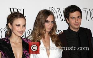 Halston Sage, Cara Delevingne and Nat Wolff - WSJ. Magazine and Forevermark host a Special Los Angeles Screening of 'Paper...