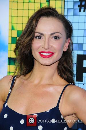 Karina Smirnoff - World Premiere of 'Pixels' at Regal E-Walk - Arrivals - New York City, New York, United States...