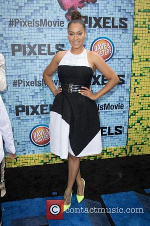 Lala Anthony - World Premiere of 'Pixels' at Regal E-Walk - Arrivals - New York City, United States - Saturday...