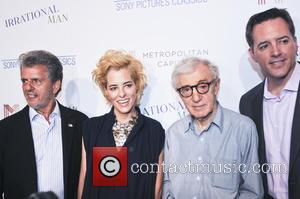 Ron Chez, Parker Posey, Woody Allen and Michael Rose