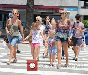 Alex Gerrard_family, Alex Gerrard, Lourdes Gerrard, Lilly-Ella Gerrard, Lexie Gerrard, Julie Gerrard and Kim Curran