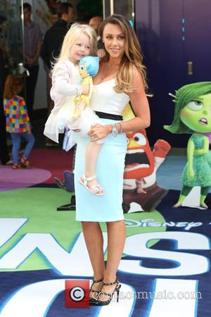 Michelle Heaton and Faith Michelle Hanley - UK Premiere of 'Inside Out' held at Odeon - Arrivals - London, United...