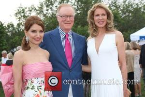 Jean Shafiroff, Chuck Scarborough and Ellen Scarborough
